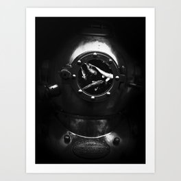 diver dream Art Print