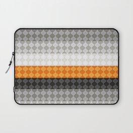 Striped geometric pattern 4 Laptop Sleeve
