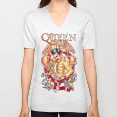Don't Stop Queen Now Unisex V-Neck