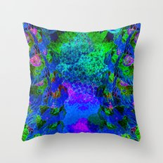 efflorescence Throw Pillow