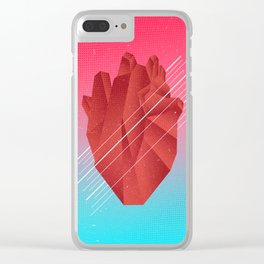 P o [L] y g o n a l  // by B20200 Clear iPhone Case