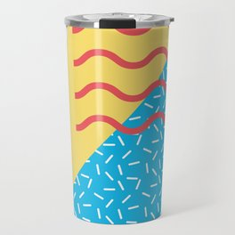Memphis Style N°2 Travel Mug