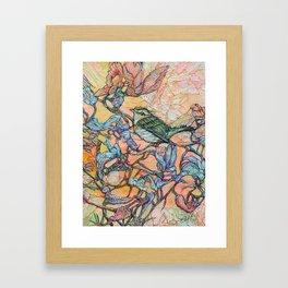 Caterpillar Questers 2 Framed Art Print