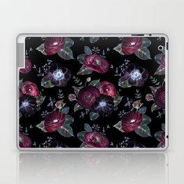 Fantasy Night Rose Red Laptop & iPad Skin