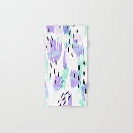 Sophia - Bold abstract - purple and blue Hand & Bath Towel