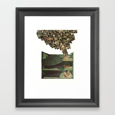 top bunk Framed Art Print