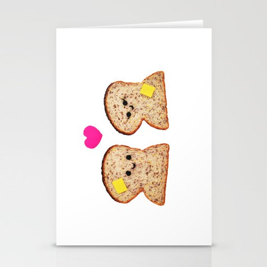 Toasty Love Stationery Cards