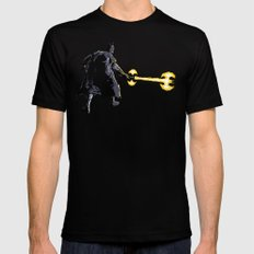 Bat Sabre Awakens SMALL Black Mens Fitted Tee
