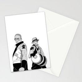 Kinkaku Boi and Ginkaku 3000 Stationery Cards