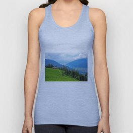 Above Interlaken Unisex Tank Top