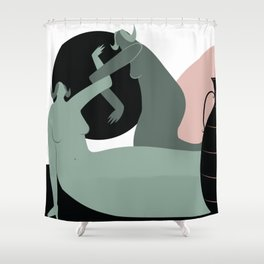 Capricorn (Dec 22 - Jan 20) Shower Curtain