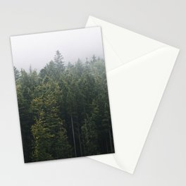 Into the Forest I go – Moody Landscape Photography Stationery Cards