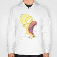 homer Hoodies featuring Undead Homer by renegade_v2