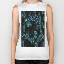 Illusory; Small Cuts Collection; Alien Kisses.; Mobile Telephone Size Print.; Biker Tank