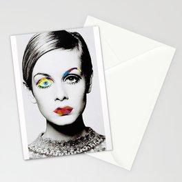 Twiggy Pop Art Stationery Cards