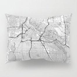 Minneapolis Map Line Pillow Sham