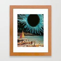 Outrigger Ultraviolet Framed Art Print