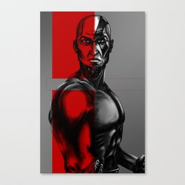 Kratos Art Canvas Print