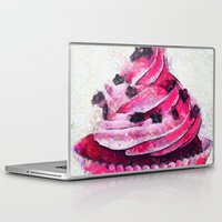 cupcake Laptop & iPad Skins featuring Cupcake by A.Aenska-Cholpanova