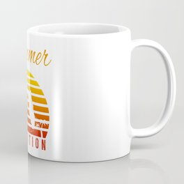 Summer Vacation Florida Miami Beach Holiday Retro Vintage Coffee Mug