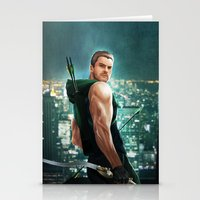 arrow Stationery Cards featuring Arrow by Meder Taab
