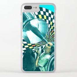 Dream Machine Clear iPhone Case