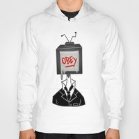 obey Hoodies featuring Obey by Caelan's Shop