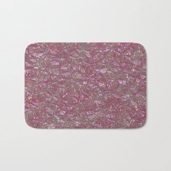 Crystal Pink Bath Mat