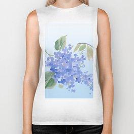 blue lilac Biker Tank