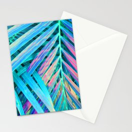 Rainbow Palms Stationery Cards