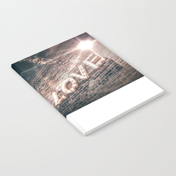 LET LOVE SHINE Notebook