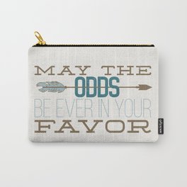 May the Odds Carry-All Pouch