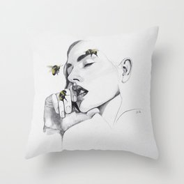 Do Not Disturb - The Moments Of Calm #3 Throw Pillow