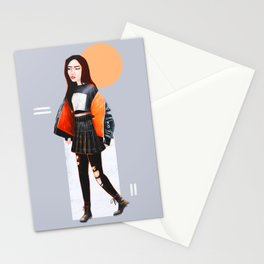 olivia hye in egoist Stationery Cards