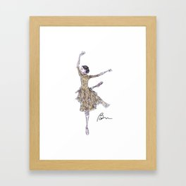 Alessandra Ferri in Woolf Works Framed Art Print