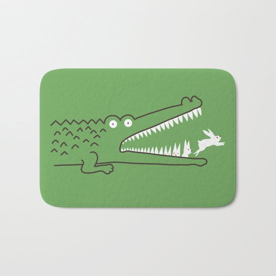 Mr. Croc's Nightmare Bath Mat