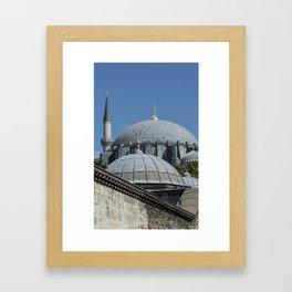 Angles and Domes Framed Art Print