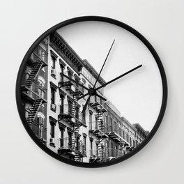 lower east side.  Wall Clock