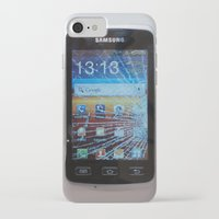 samsung iPhone & iPod Cases featuring iPhone crashes Samsung by CrazyWorld