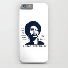 Nina Simone No Fear iPhone 6s Slim Case