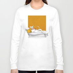 starting with a coffeebreak Long Sleeve T-shirt