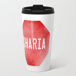 Stop Sharia Travel Mug