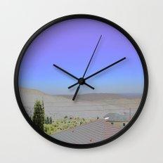Chromascape 1: Cyprus Wall Clock