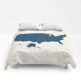 National Parks of the United States Comforters