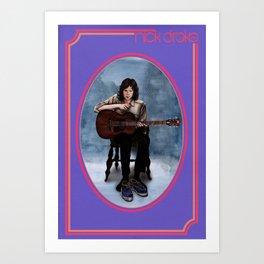 Nick Drake - Bryter Layter Art Print