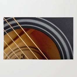 Guitar String Abstract 4 Rug