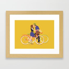 """Townies"" in Love Framed Art Print"