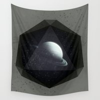 gem Wall Tapestries featuring Dark Gem by DuckyB