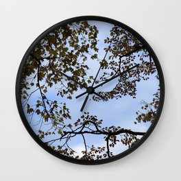 Up in the Sky Wall Clock