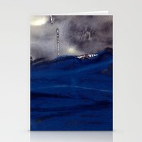 storm Stationery Cards featuring storm by agnes Trachet